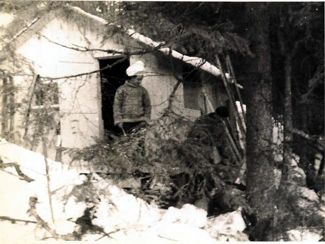 Majorstua vinteren 1944.